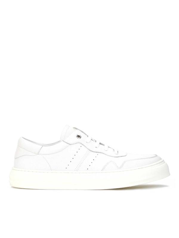 Sneakersy męskie w kolorze złamanej bieli TAYLER