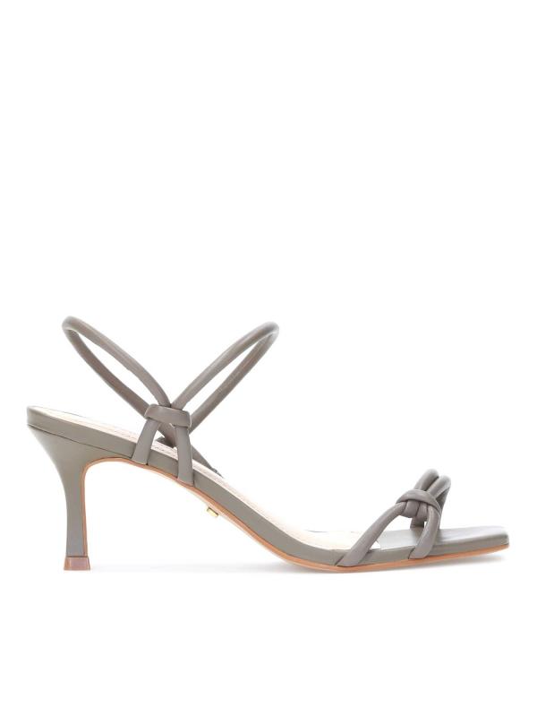 Taupe sandały damskie CHAYA