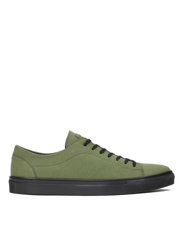 Zielone sneakersy męskie JACKY