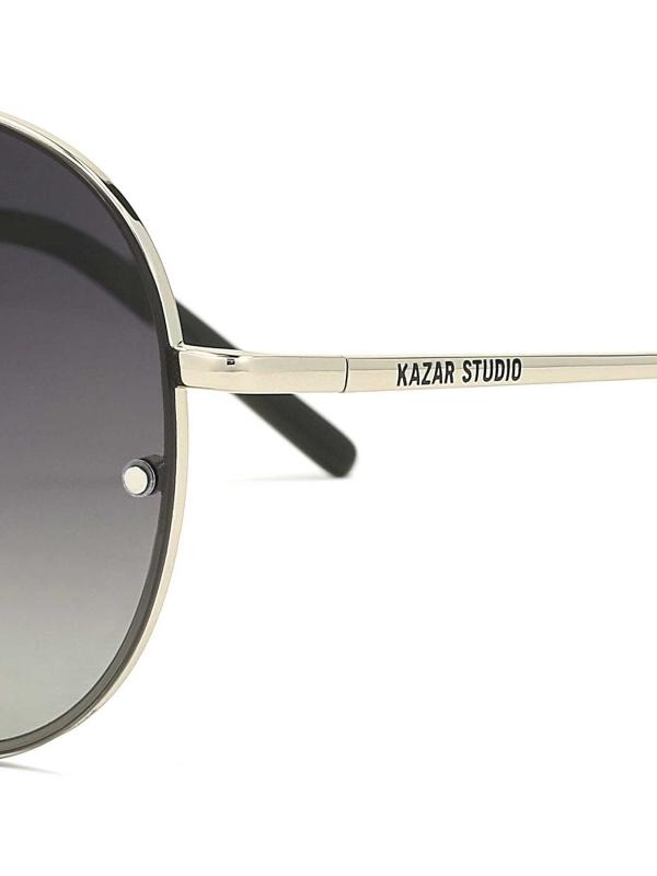 Srebrne okulary męskie